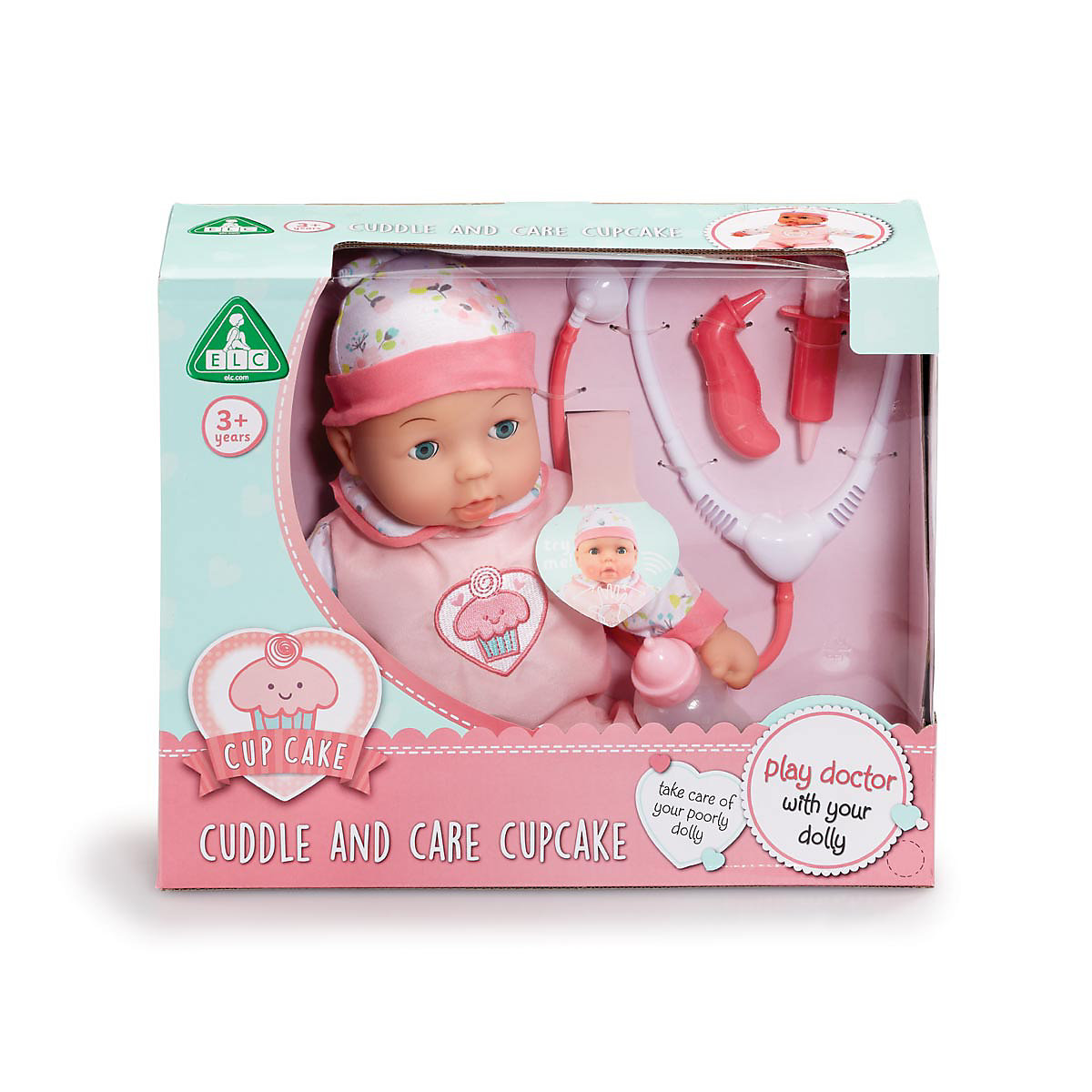 Image of cupcake cuddle and care baby doll